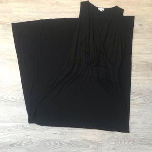 Splendid Black Sleeveless Maxi Dress - S